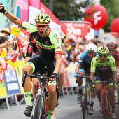 Sechste Etappe geht an Team Vorarlberg