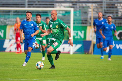 Nicht nur wegen seiner drei Treffer war Austria-Neuerwerbung Matthias Morys der Mann des Spiels gegen Atromitos Athen.Stiplovsek