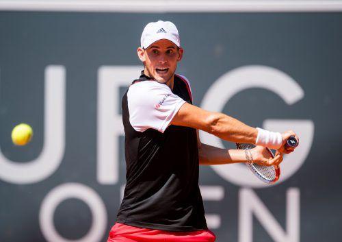 Österreichs Tennis-Star erwischte gegen Andrej Rublew keinen guten Tag.DPA