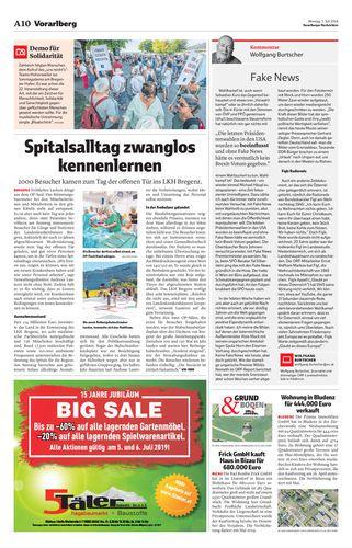 Land Vorarlberg - Presse - Vorarlberg kennenlernen per