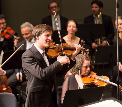 Zalejski ist Konzertmeister im Symphonieorchester Vorarlberg. mathis/VN