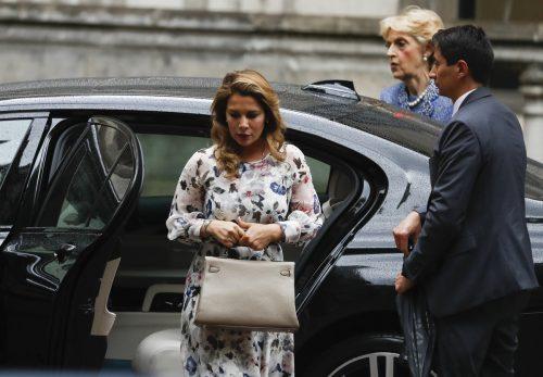 Prinzessin Haya Bint al-Hussein erschien am Mittwoch vor dem Gericht in London. Ihr Mann fordert die Rückkehr der beiden Kinder nach Dubai. AP