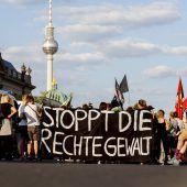 Deutsche fordern Härte gegen Rechte