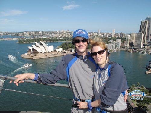 René und Sara Leuc ließen sich im Jahr 2006 in der Fünf-Millionen-Metropole Sydney nieder. Archiv
