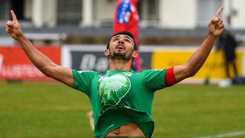 Ronivaldo gelang beim 5:0-Auswärtssieg im ÖFB-Cup bei Stadl-Paura ein wahres Husarenstück – der Brasilianer erzielte nämlich alle Tore. Dafür durfte er auch den Ball behalten.Gepa