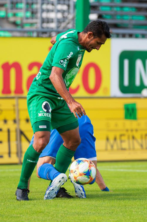 Ronivaldo und Austria Lustenau verloren gegen Vaduz mit 0:2.vn