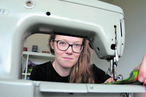 Sabrina Auers Produkte sollen ein kleiner Beitrag dazu sein, dass Verwerten besser als Wegwerfen ist.Cro
