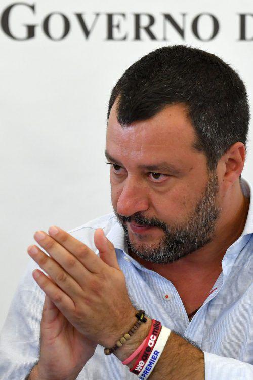 Salvini hatte am Mittwoch angekündigt, wegen des Artikels klagen zu wollen. AFP
