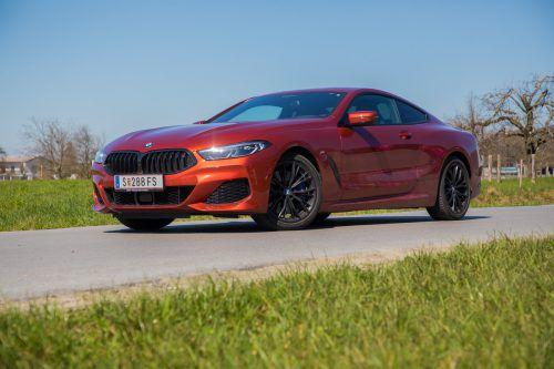 Schicker hätten die Bayern ihren Luxussportler nicht zeichnen können: neues 8er Coupé von BMW.vn/Steurer