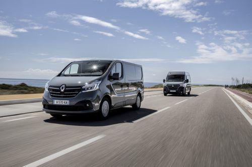Schicker liefern: Renault Trafic und Master bemühen sich äußerlich um französische Eleganz, unter dem Blech sorgen neue Motoren für bessere Performance.werk