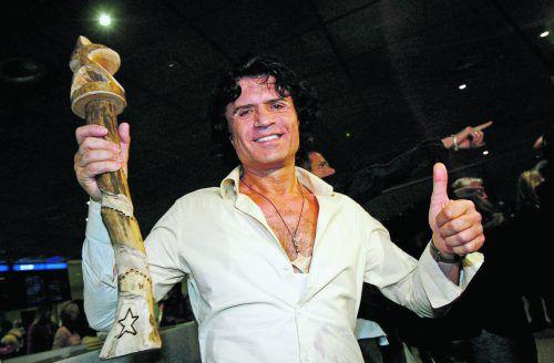 """Schlagerstar Costa Cordalis: 1976 stürmte er mit """"Anita"""" die Charts, 2004 war er der Dschungelkönig."""
