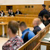 Brutalo-Bande vor Gericht