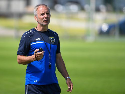 """SCR Altachs neuer alter Co-Trainer Martin """"Butre"""" Bernhard kehrt mit viel Elan und Erfahrung vom Rekordmeister Rapid ins Ländle zurück.gepa"""