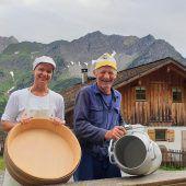 Gemeinschaftliches Alpfest im Walsertal
