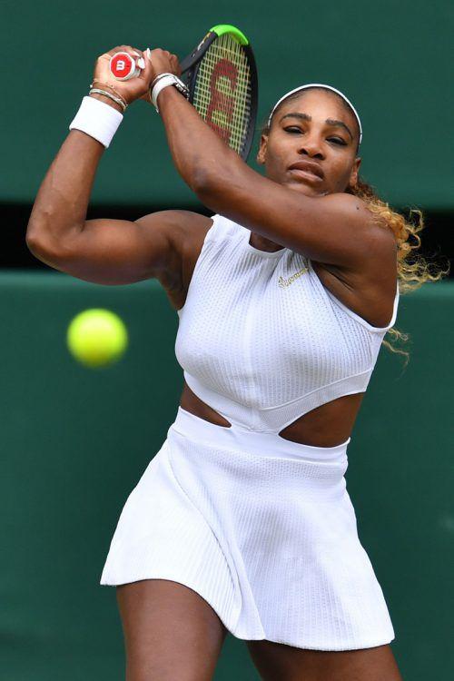 Serena Williams verlor das Endspiel, geht aber weiter auf Rekordjagd.apa