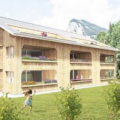 Neuer Wohnraum im Wälderhaus-Stil in Au