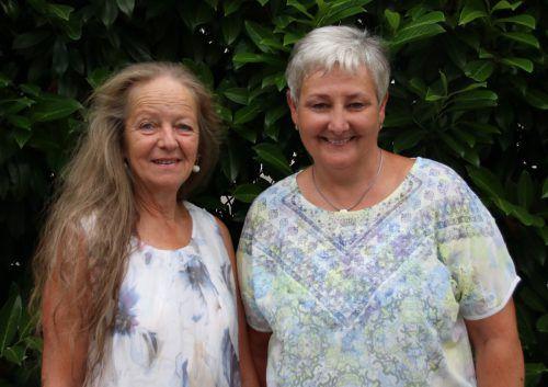 Sonja Neyer (l.) übergab ihre Aufgaben an Petra Bachmann. KPV