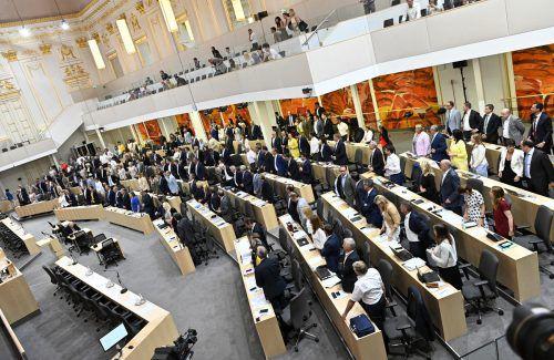 SPÖ, FPÖ und Liste Jetzt wollen ihre Mehrheit nützen, um die Regelungen zur Parteienfinanzierung zu verschärfen. APA