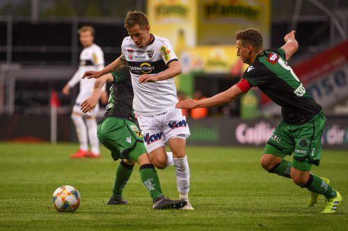 Stefan Nutz zieht ab sofort die Fäden im Mittelfeld der SV Ried.gepa