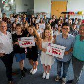 Kreative Ideen spülten Geld in die Kassen ambitionierter Schüler