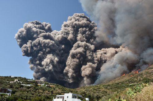 Stromboli ist einer der aktivsten Vulkane der Welt und ein Touristenmagnet. AFP