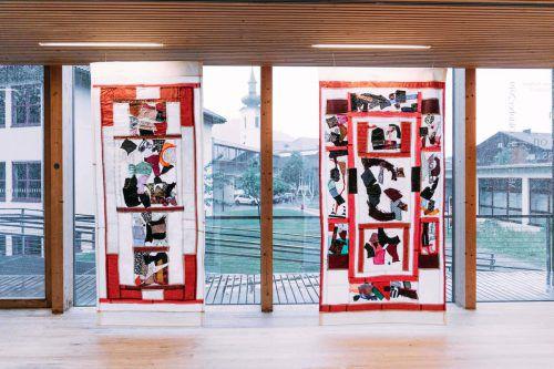 Teppichkunstwerke bauen eine Brücke zwischen Kulturen. KIRSTIN TOEDTLING