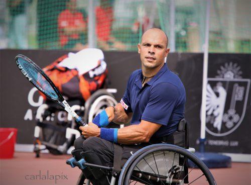 Thomas Flax möchte im Einzel- und Doppelbewerb ins Finale einziehen. vn