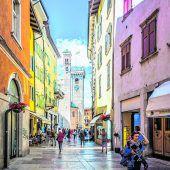 Die schöne Altstadt von Trient