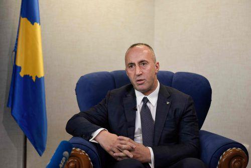 Überraschend verkündete Haradinaj seinen Rücktritt. AFP