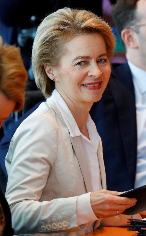 Ursula von der Leyen soll die neue EU-Kommissionschefin werden. reuters