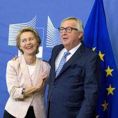 Von der Leyen hat schon Schreibtisch in Brüssel
