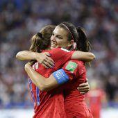 US-Girls im Finale der Fußball-WM