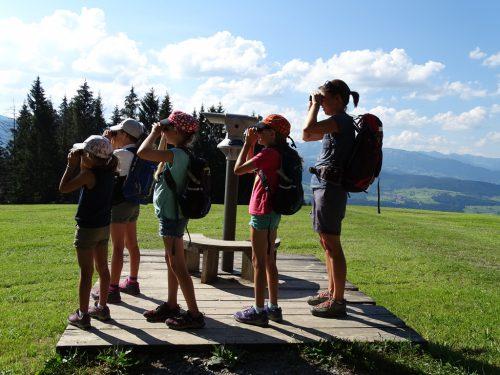 Viele Aktivitäten für Kinder in den Sommerferien. Archiv Tourismusbüro Sulzberg
