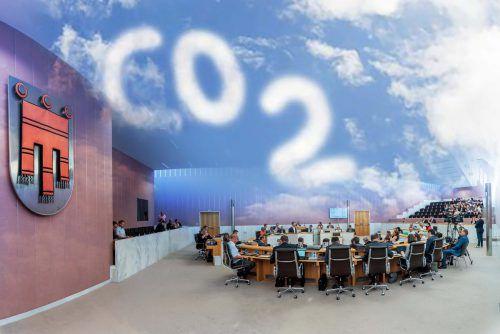 Volksvertreter votierten im Landtag mit großer Mehrheit für Ausrufung des Klimanotstandes. VN/Stiplovsek