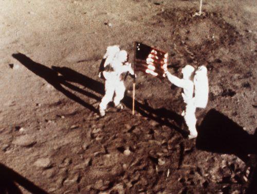 Vor 50 Jahren betrat Neil Armstrong als erster Mensch den Mond. Ap