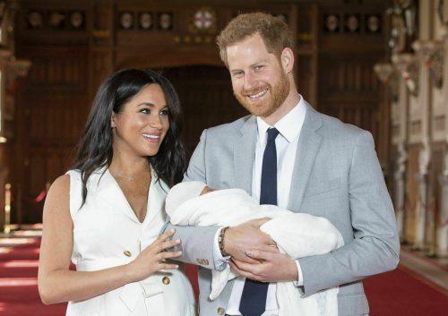 Vor knapp drei Monaten kam Baby Archie auf die Welt. AP