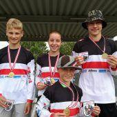 Viermal Gold für BMX-Fahrer