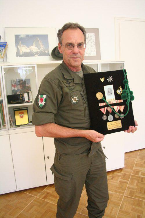 Vorarlbergs Militärkommandant Ernst Konzett könnte im Jänner 2020 seinen Ruhestand antreten. VN
