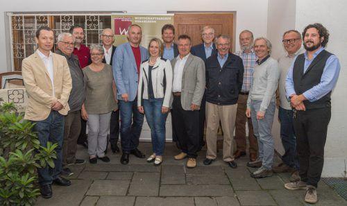 Vorstand und Mitglieder des Vorarlberger Wirtschaftsarchives hielten ihre 35. Versammlung in der historischen Villa Müller in Feldkirch ab.VWA