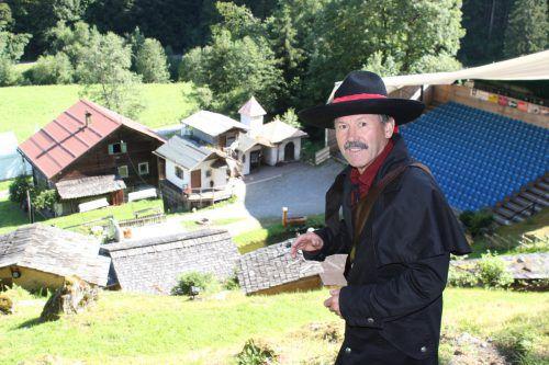 Walter Bargehr spielt heuer zum ersten Mal die Hauptrolle. VN/JLO