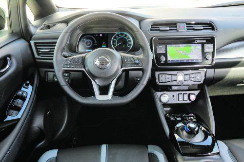 Wenige Experimente und klare Anzeigen erleichtern den Einstieg in die Strom-Mobilität à la Nissan.