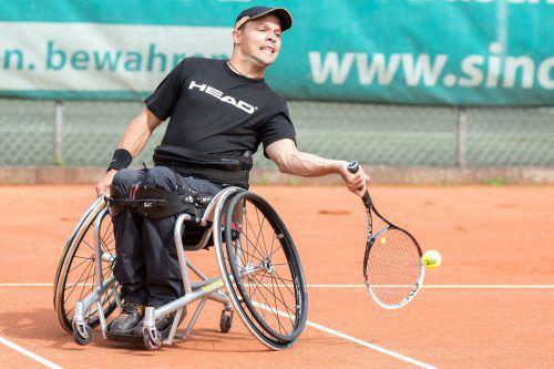 Wie 2018 triumphierte Thomas Flax beim Turnier in Birrhard im Einzel und Doppel.VN/Stiplovsek