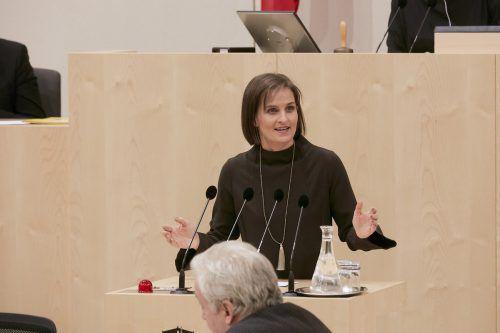 Martina Ess ist Bundesratsabgeordnete. Vielleicht muss sie es bleiben. parlament