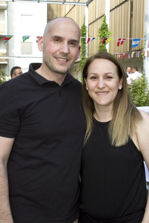 Zufrieden als Mieter: Fotis Tsavidis und Georgia Papadopoulou.