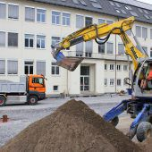 Vorplatz der Mittelschule Bludenz wird umgestaltet