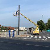 Achmühler Kreuzung wieder frei