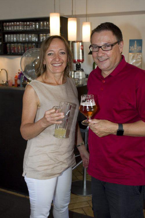 Andrea Kramer und Christophorus Schmid wussten zu genießen.