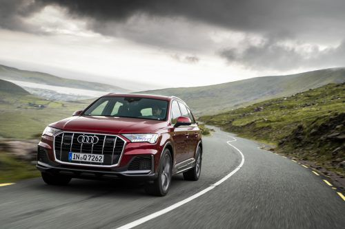 Aufgefrischt und fit gemacht: Erste VN-Testfahrten mit dem gründlich überarbeiteten Audi Q7. werk