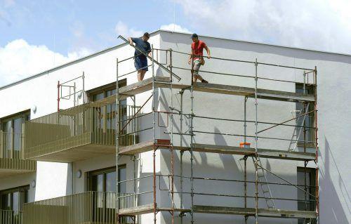 Bauen ist auch heuer in Österreich wieder teurer geworden. APA