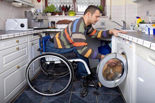Bei behindertengerechten Umbauten ist eine gute fachliche Beratung besonders wichtig, weil davon auch die Lebensqualität abhängt. AFP
